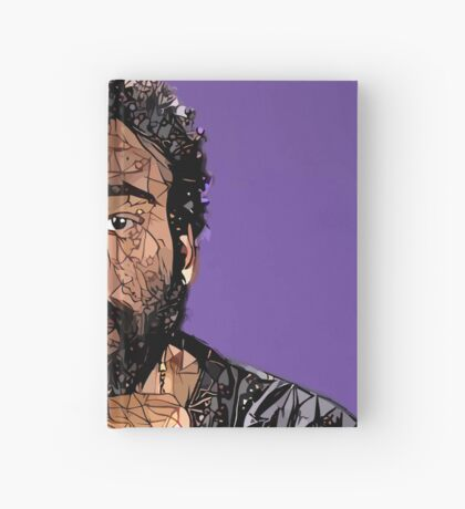 Abstract Donald Glover Hardcover Journal