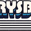 Perrysburg, Ohio | Retro Stripes by retroready