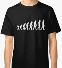 Finger-Kreis-Spiel-T-Shirt Evolution Classic T-Shirt