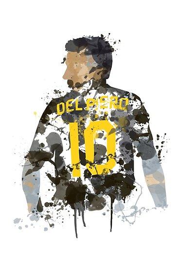 cd1dbb202a3 Alessandro Del Piero Juventus Legend Art