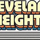 Cleveland Heights, Ohio | Retro Stripes by retroready