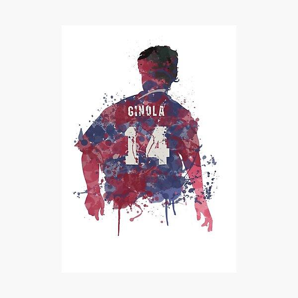 David Ginola Newcastle United Legend Art Photographic Print