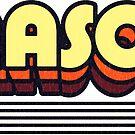 Mason, Ohio | Retro Stripes by retroready
