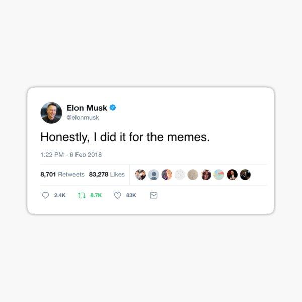 Elon Musk Twitter Memes Sticker