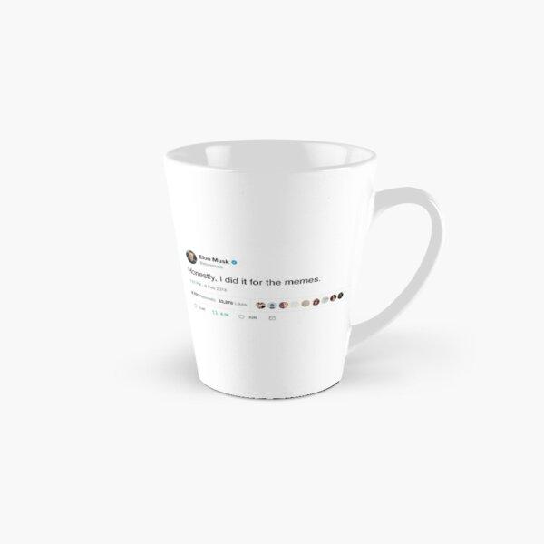 Elon Musk Twitter Memes Tall Mug