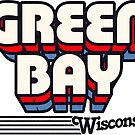 Green Bay, Wisconsin | Retro Stripes by retroready