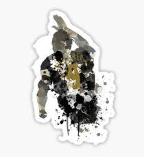 Alan Shearer Newcastle United Legend Art Sticker