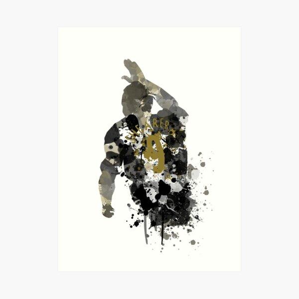 Alan Shearer Newcastle United Legend Art Art Print