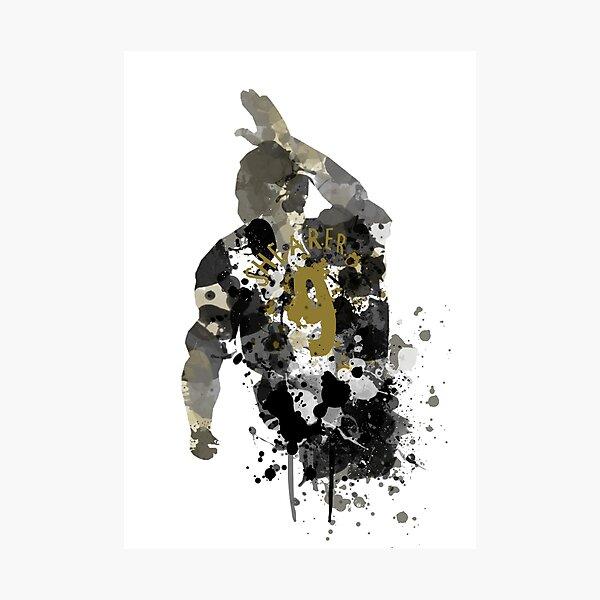 Alan Shearer Newcastle United Legend Art Photographic Print