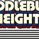 Middleburg Heights, Ohio | Retro Stripes by retroready