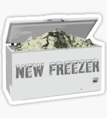 New Freezer Sticker