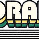 Lorain, Ohio | Retro Stripes by retroready