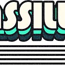 Massillon, Ohio | Retro Stripes by retroready