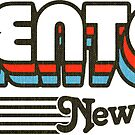 Trenton, New Jersey | Retro Stripes by retroready