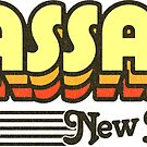 Passaic, New Jersey | Retro Stripes by retroready