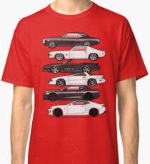 Six Gen Camaros Classic T-Shirt
