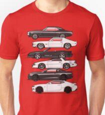 Six Gen Camaros Unisex T-Shirt