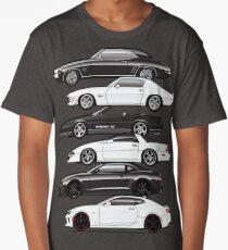 Six Gen Camaros Long T-Shirt