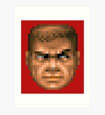 Doom Guy Art Print