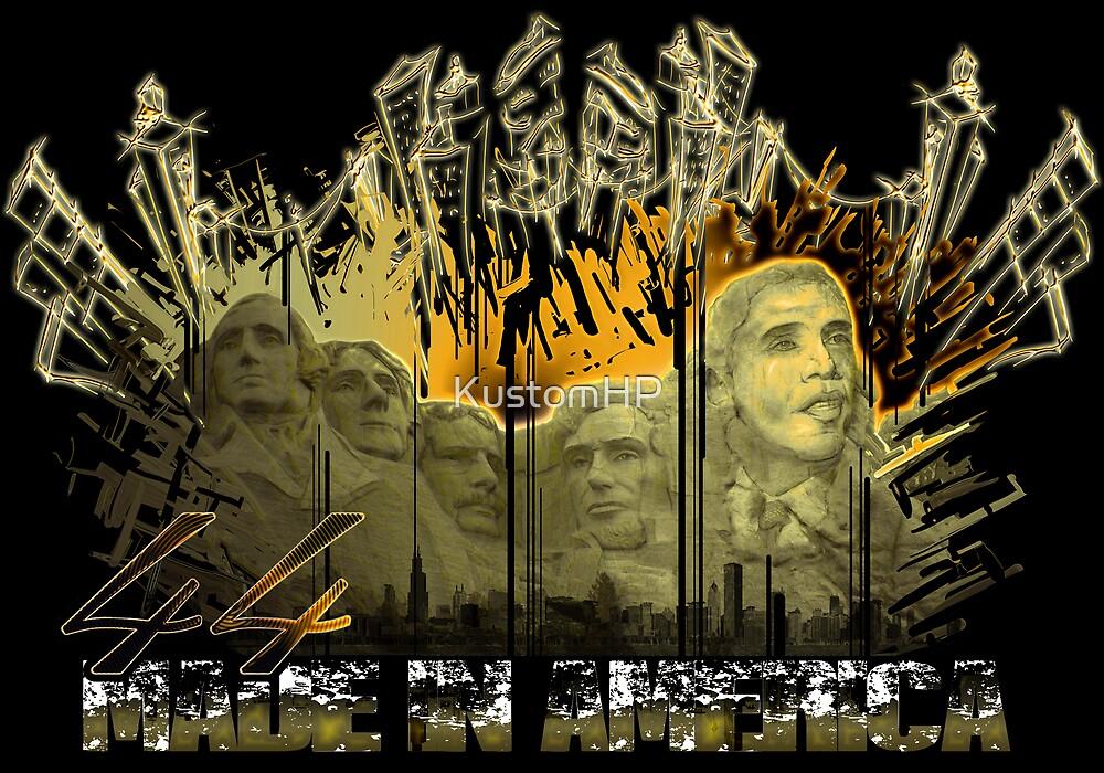 "Obama Rush 44 ""Made in America"" by KustomHP"