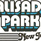 Palisades Park, New Jersey | Retro Stripes by retroready