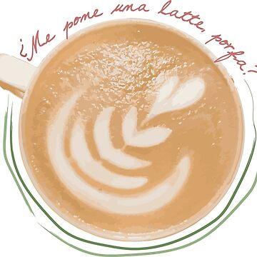 querido latte, eres mi amor de platyopus