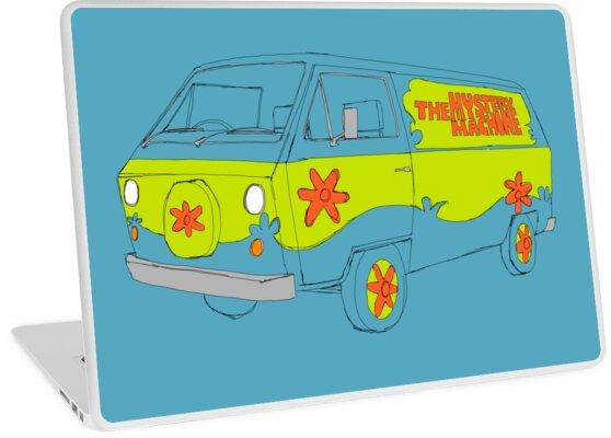 The Scooby Doo Mystery Machine