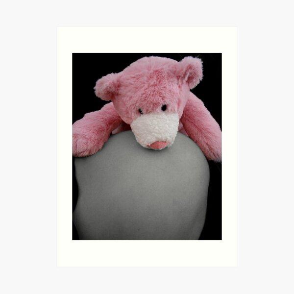 Belly Bump Bear Hugs Art Print