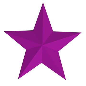 PURPLE  STAR by TOMSREDBUBBLE