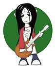rock zombie by ninamarie