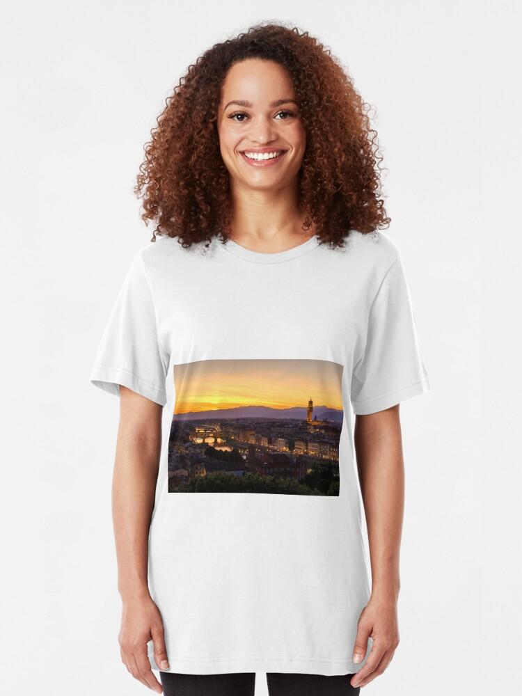 Vista alternativa de Camiseta ajustada Florence