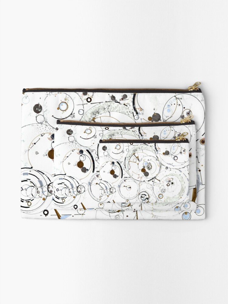 Alternate view of Synchronicity Zipper Pouch