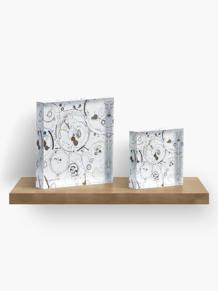 Alternate view of Synchronicity Acrylic Block