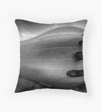 Selfridges Building Birmingham Throw Pillow