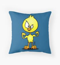 Chick power Throw Pillow