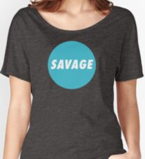 SAVAGE CIRCLE Women's Relaxed Fit T-Shirt