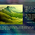 He Will Not Let Your Foot Slip by Patricia Howitt