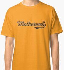 Motherwell City Scotland - Vintage Sports Typography Classic T-Shirt