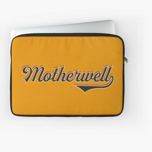 Motherwell City Scotland - Vintage Sports Typography Laptop Sleeve