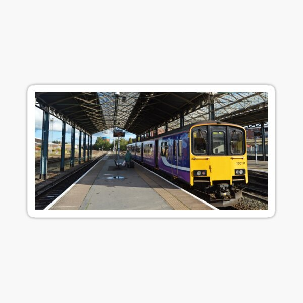 Northern Rail Class 150 at Chester Station Sticker