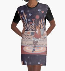 while she sleeps Graphic T-Shirt Dress