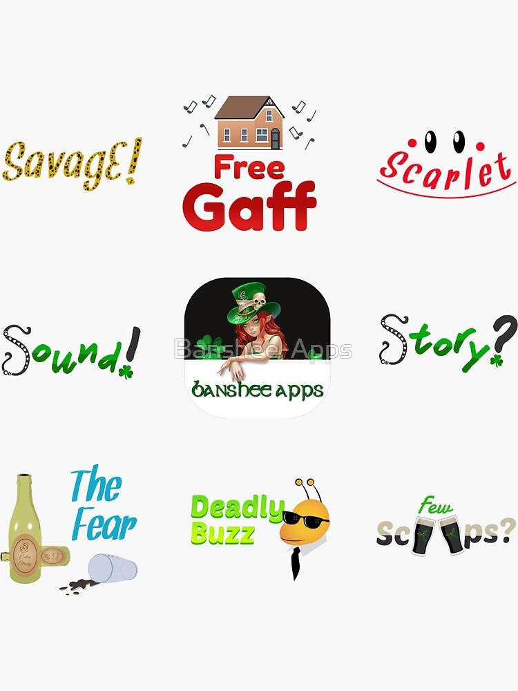 Irishmoji Magic Sticker Pack 1 by Banshee-Apps