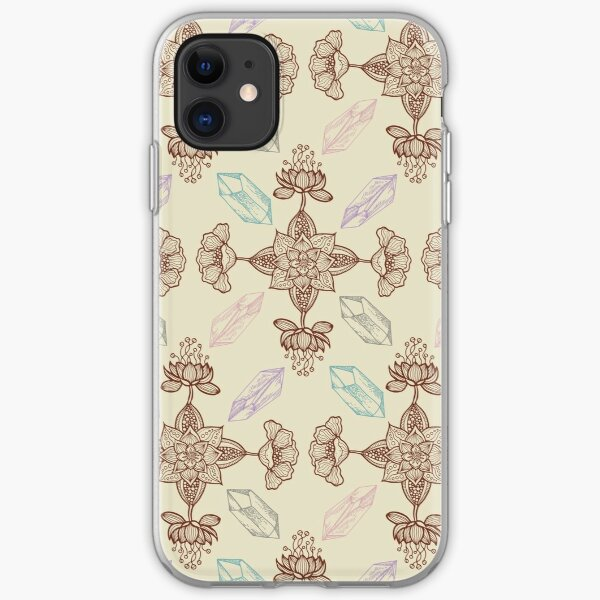 Crystals & Henna iPhone Soft Case