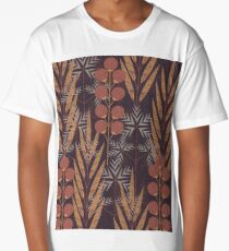 pattern Long T-Shirt