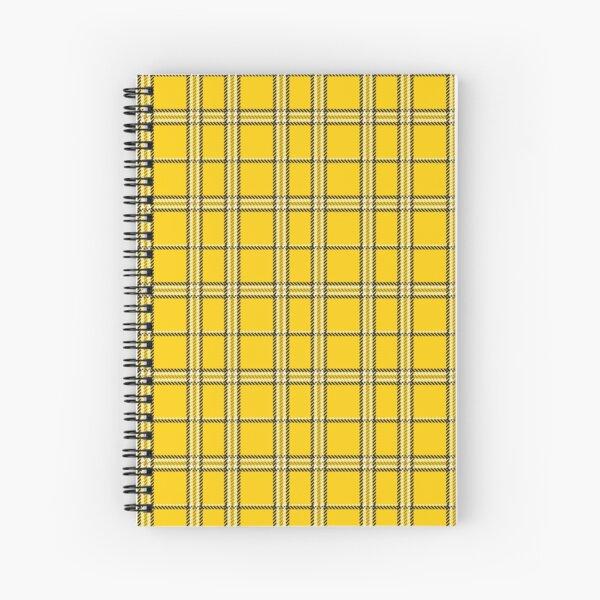 Plaid Skirt Clueless Spiral Notebook