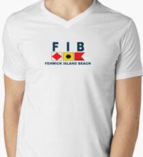 Fenwick Island - Delaware. Men's V-Neck T-Shirt