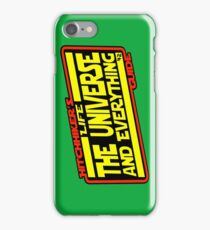 Hitchhiker's Guide Strikes Back iPhone Case/Skin