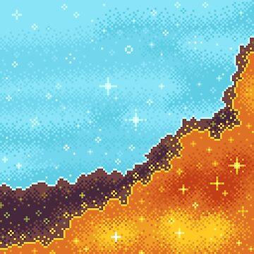 8bit Galaxy: Art Along #1 by sp8cebit