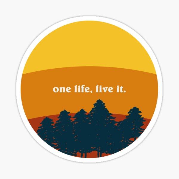Une vie Sticker