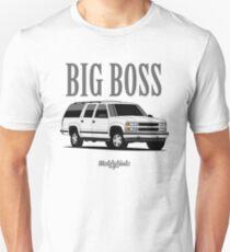 Big Boss Suburban (white) Slim Fit T-Shirt